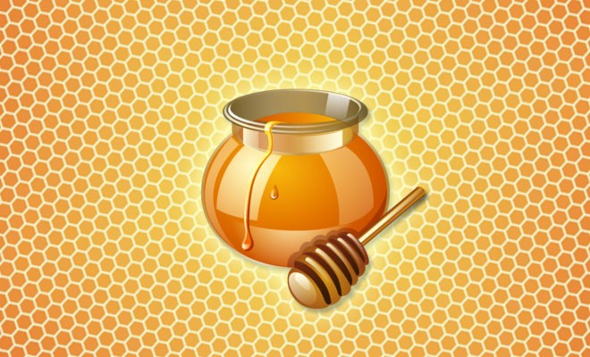 Употребление меда в сотах