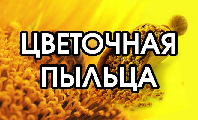 Цветочная пыльца переносимая насекомыми
