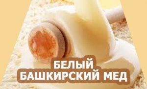 башкирский белый мед