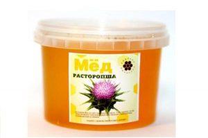 Расторопшевый мед