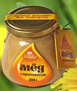 прополисовый мед