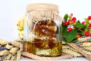 Алтайский медовый с кедровыми орешками