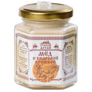 крем мед с кедровыми орешками