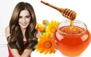 маска для волос с медом