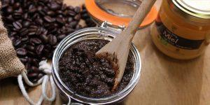 скраб для тела из меда и кофе
