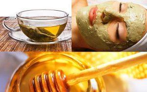 маска для лица с медом