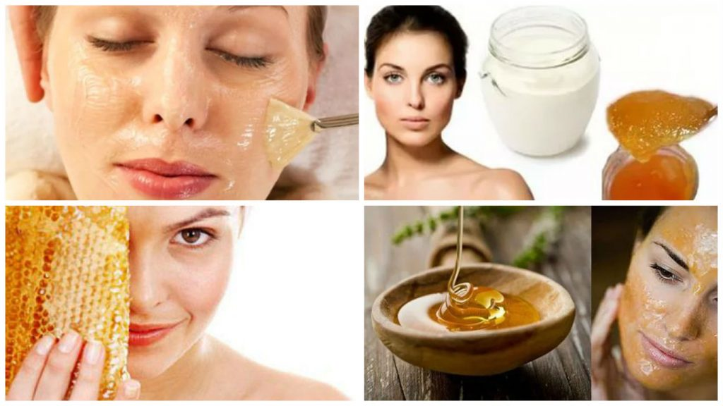 маска для лица с медом и содой