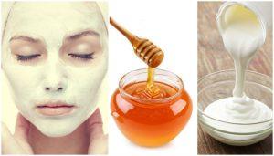 омолаживающая маска с медом для лица