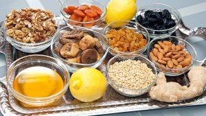 витаминная смесь из сухофруктов с медом