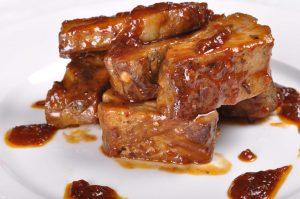 свинина с медом в духовке