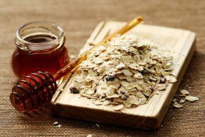маска с овсянкой и медом для лица рецепт