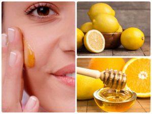 Маска для лица с медом и лимоном: цитрусовая маска
