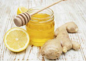 имбирь с лимоном и медом, рецепт