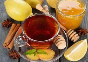 польза чая с медом