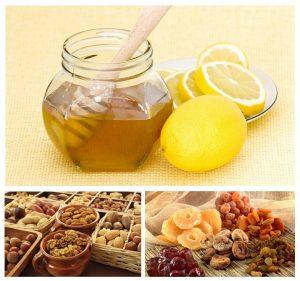 польза смеси из сухофруктов с медом
