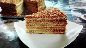 торт с медом