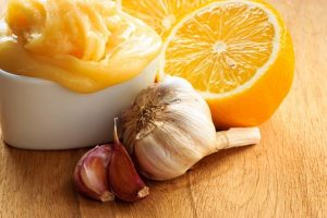мед, лимон, чеснок польза