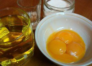 мед и яйцо для лица
