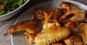 куриные крылышки с медом