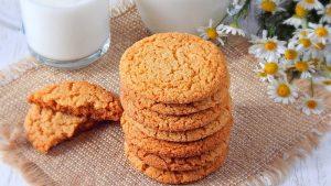 печенье с медом легкое
