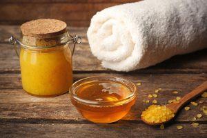 медово-солевой скраб для похудения