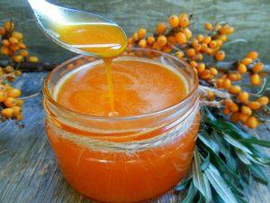 рецепт облепихи с медом
