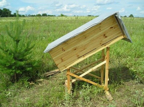 Колода для пчёл своими руками