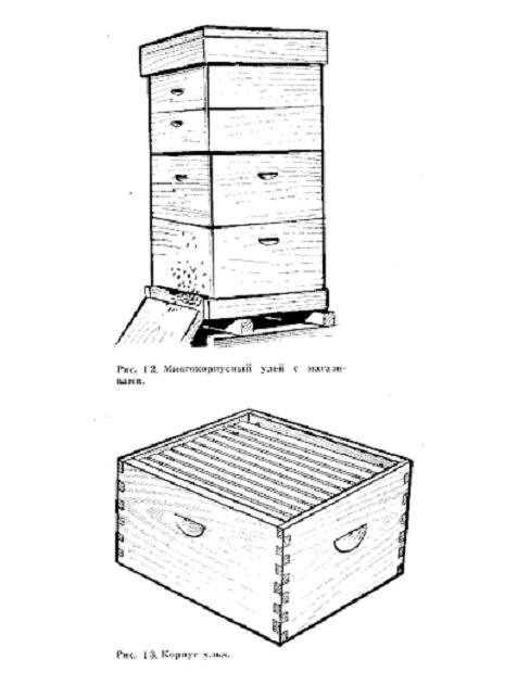 Пример многоэтажного улья