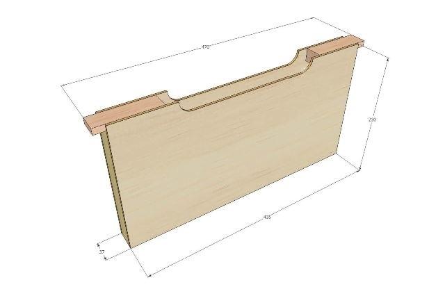 Рамка-кормушка для пчел