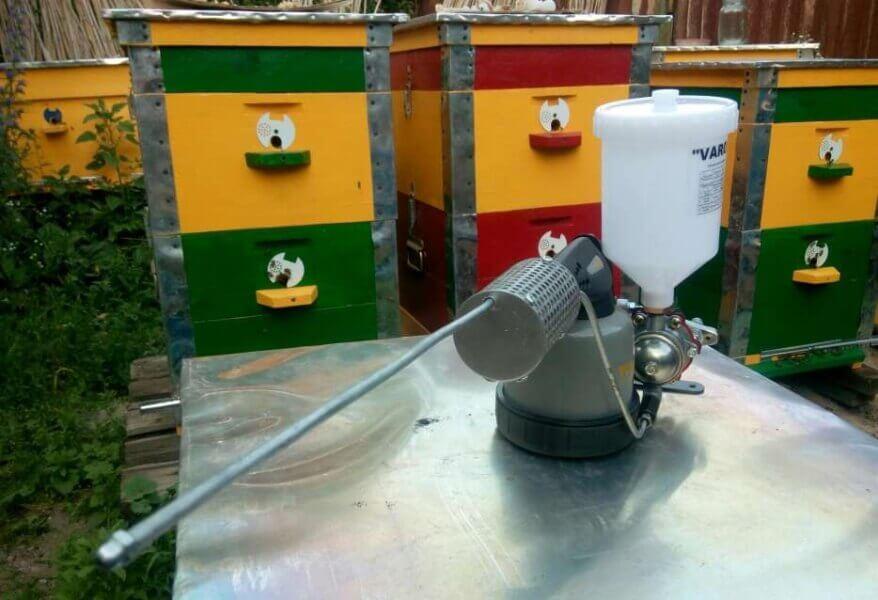Дым-пушка для пчел