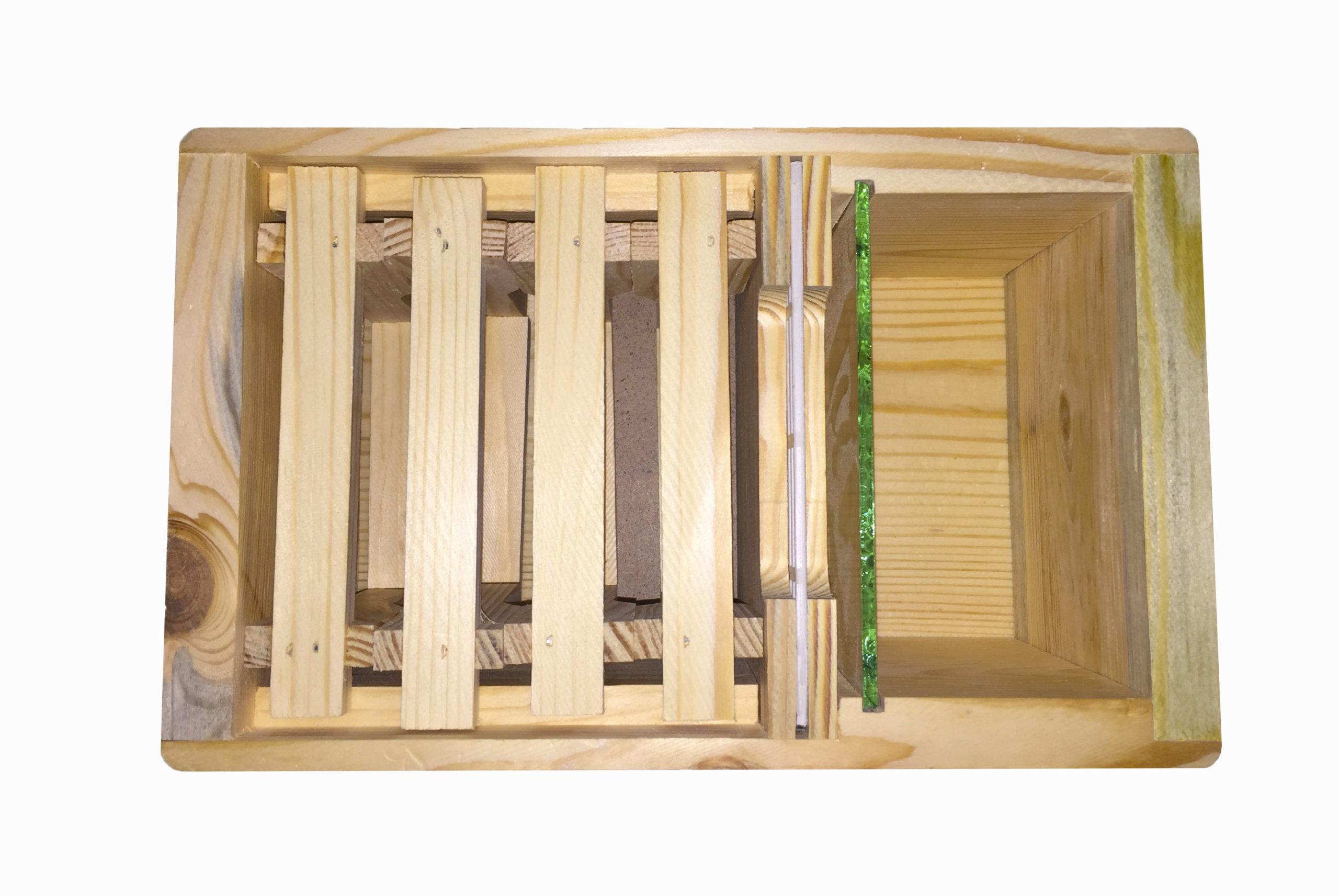Деревянный нуклеус на 4 рамки