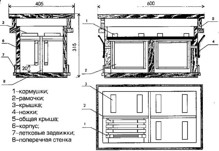Чертежи и конструкция фанерного нуклеуса