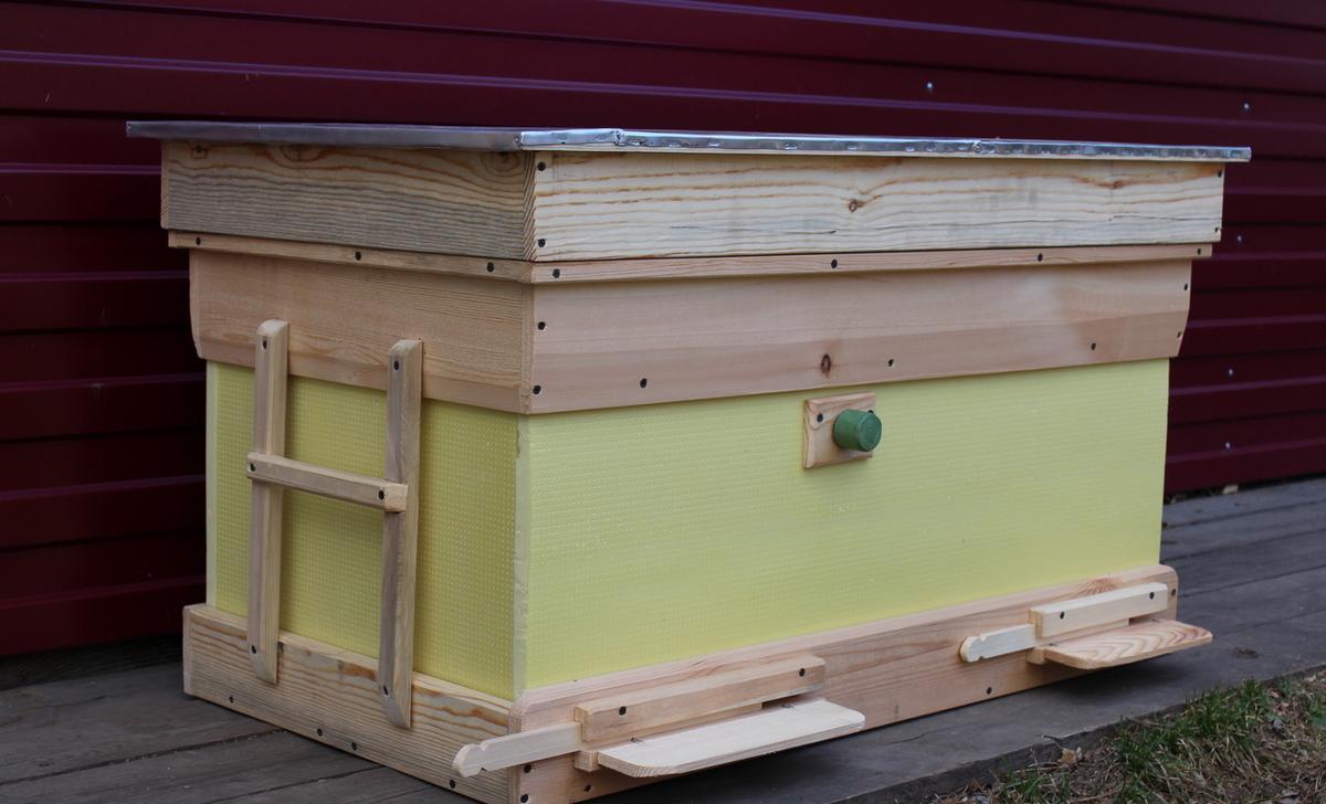 Улей для пчел из пенополистирола